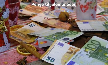 Penge til julemåneden